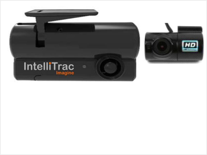 2 Camera Dash Cam with Internal Camera