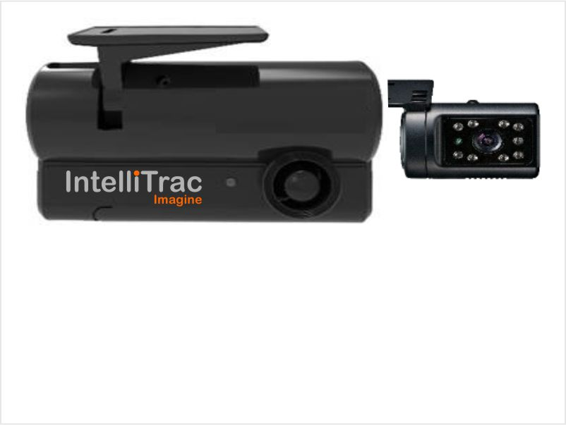 2 Camera Dash Cam with Internal IR Camera