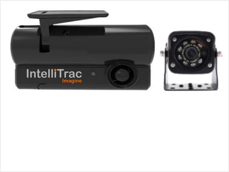 2 Camera Dash Cam with External IR Camera