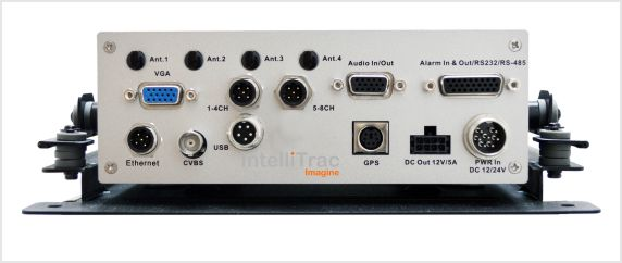IntelliTrac 8 Channel MDVR